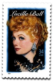 Lucille Ball stamps