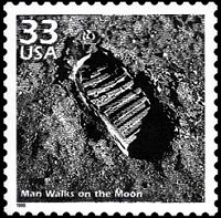 Man Walks On The Moon Celebrate Century Series Armstrong Placed A Plaque Landing Site Inscribed Here Men From Planet Earth Set Foot Upon
